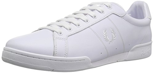 Fred Perry B722 Leather Shoe White