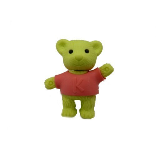 Iwako Pink Shirt Bear Eraser product image