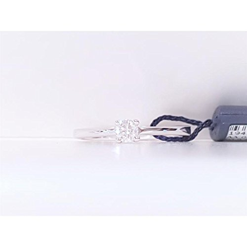 Solitaire davite aa00303720s or blanc diamant