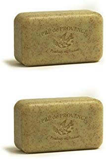 Pre de Provence 150g Honey Almond Shea Butter Enriched Triple Milled Soap (Pack of 2)