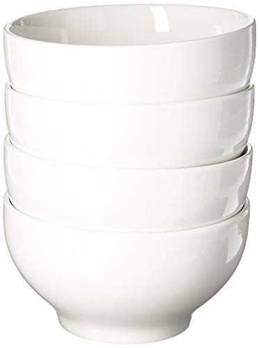 Oxford Porcelain COMINHKG071519 Biona Bowls (Set of 4)-White