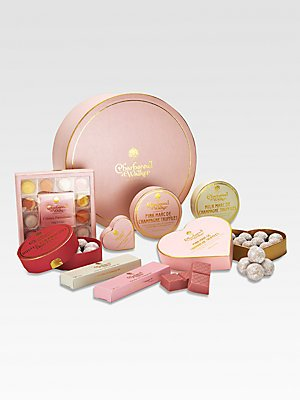 Charbonnel et Walker Pink Hamper Chocolate Assortment - No Color
