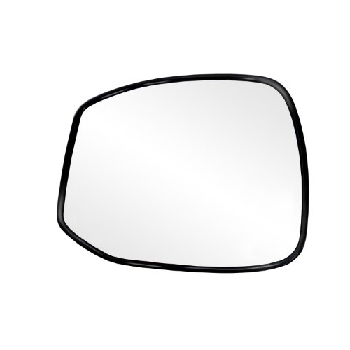 Fit System 88270 Honda Civic Left Side Power Replacement Mirror Glass with Backing Plate