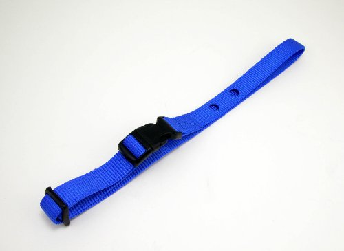 3/4 Replacement (Dog Fence Reciever Heavy Duty Replacement Strap Blue by Tuff)