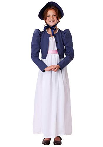 Child Jane Austen Costume Large -