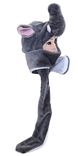Winter Animal Hat Set Cap for 3-17yr Kids Cosplay Party C...
