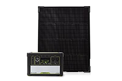 Best Cheap Deal for Goal Zero Yeti 400 Lithium Solar Generator Kit with Boulder 50 Solar Panel by Goal Zero - Free 2 Day Shipping Available