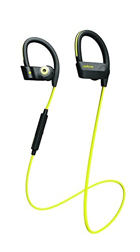 Jabra Sport Pace Wireless Bluetooth Earbuds Yellow (Renewed)