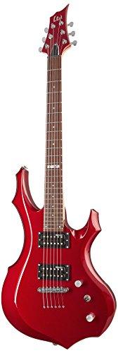 Esp Les Paul - ESP LTD F-50 Electric Guitar - Black Cherry
