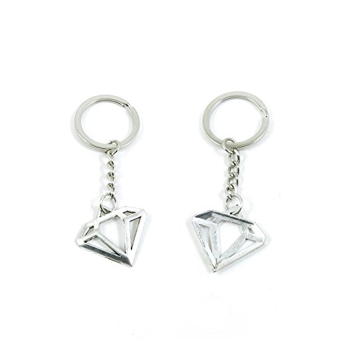 Diamond Shape Keychain - 2