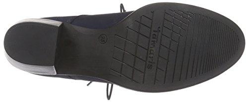 Tamaris 25125 - Botas de cuero para mujer azul - azul (Navy 805)