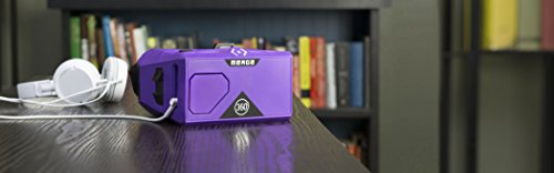 Merge VR/AR Goggles – Virtual and Augmented Reality Headset – iPhone and Android, Adjustable Lenses, Dual Inputs, Soft Material, Easy to Clean and Share, Kids 10+