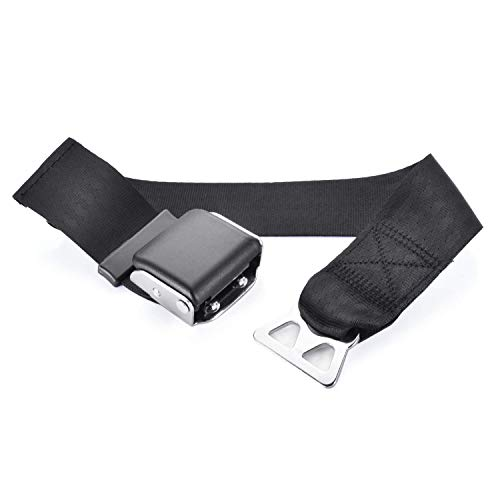 Cousduobe Adjustable Airplane Seat Belt Extender,for Southwest Airlines,Provide you with a safe and comfortable journey - Black/Type B