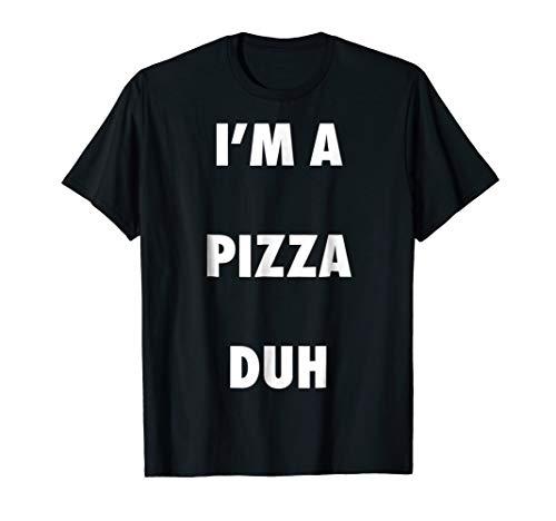 Easy Halloween Pizza Costume Shirt for Men Women Kids ()