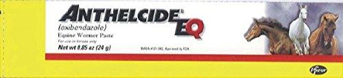 PFIZER EQUINE 450006 Anthelcide EQ Equine Wormer Paste, 0.85 (Strongyle Wormer)
