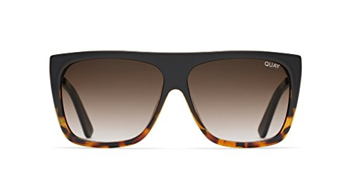 Quay x Desi OTL II Sunglasses (Black To Tort Fade, - Quay Sunglasses