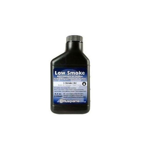 Husqvarna 2 Cycle Low Smoke Oil 6.4 oz Bottle - 6 pack