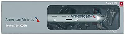 Hogan HG0496 American Airlines Boeing 767-300ER 1:200 Scale With Gear & Stand