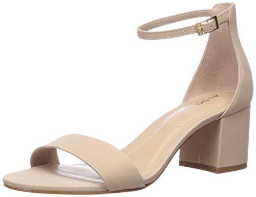 ALDO Women's Dress Sandals with Block Heels, Villarosa Bone Multi, Size 6 Heeled, 6 B US (6 Aldo Size)