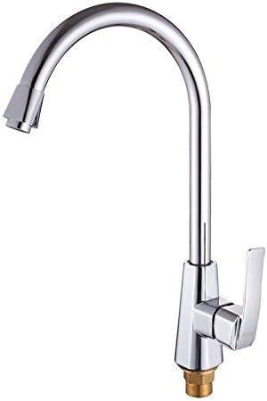 S-TING 蛇口 バスルーム、すべての銅の皿頭、温水と冷水キッチン蛇口、現代のシンプルなラグジュアリー、ラグジュアリーと古代のクラシックホームデコレーションの水タンクHeadquality保証リボルビング360 水栓金具 立体水栓 万能水栓