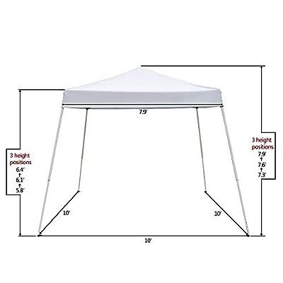 Wateday 3 x 3M Portable Home Use Waterproof Folding Tent, White : Garden & Outdoor