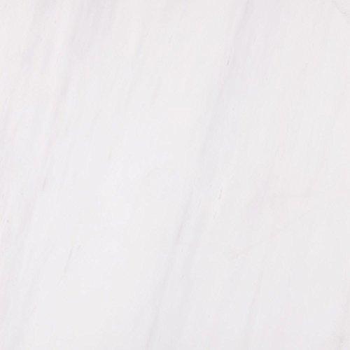 Marbletiledirect Bianco Dolomiti Polished White Marble 6-inch x 12-inch x 3/8-inch Beveled Tiles ()