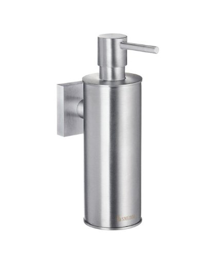 - Smedbo House Soap Dispenser RS370 Brushed Chrome.Include Glue.Fixing Without Drilling