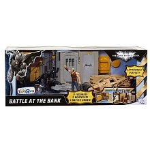 Batman The Dark Knight Rises Exclusive Battle At The Bank With Batman And Bane By Mattel