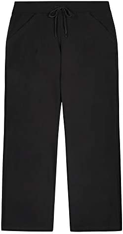 Maxx Athletics Women's Plus-Size Dri Core Relaxed Fit Workout Pant with Pockets 1