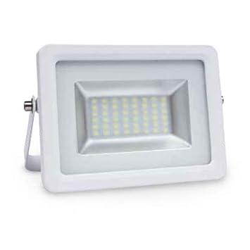 Proyector LED 20W 3000K IP65 Blanco GSC 0704736: Amazon.es ...