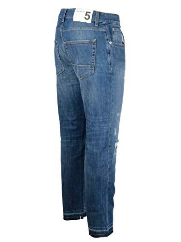 Uomo U18d12d1804100 Five Blu Jeans Cotone Department OkTPXZiu