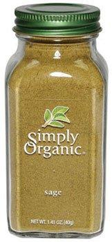 SIMPLY ORGANIC BTL SAGE GRND ORG, 1.41 OZ by Simply Organic