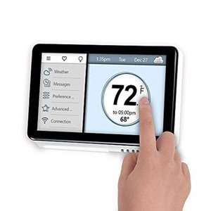 Vine Smart Wi-Fi Thermostat TJ-919 - 7-Day Programming Smart Thermostat with Touchscreen and App Control by VINE