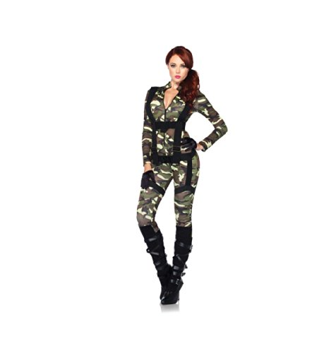 [Pretty Paratrooper Costume - Small - Dress Size 4-6] (Adult Pretty Paratrooper Costumes)