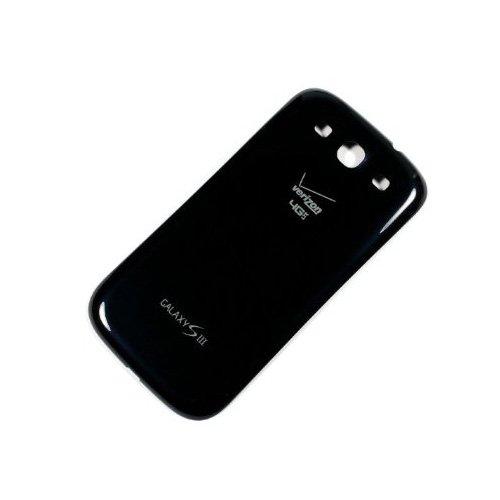 Samsung SCH-i535 Battery Door Back Cover for Galaxy S III, Galaxy S3 - Black (Samsung S3 Back Cover)