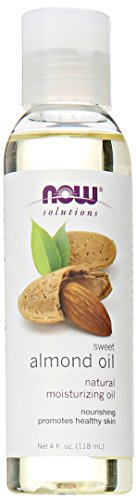 Now Solutions Sweet Almond Oil,4-Ounce