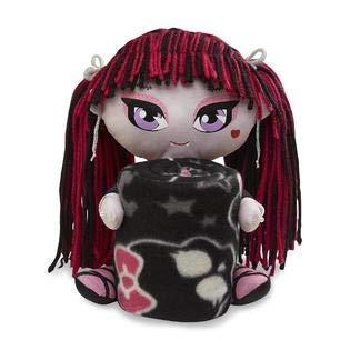Monster High Draculaura Plush Pillow Doll Hugger and Throw Blanket
