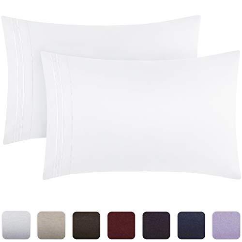 standard or King Set of 2 Pillow Cases New Hot 1800 Pillow Case Set Queen