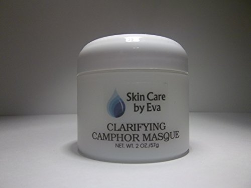 Clarifying Acne Treatment Camphor Masque 2 Oz - with colloidal Sulfur an extremely effective mask to manage and clarify severe acne or blemished skin, Can be used as an overnight treatment to reduce blemishes and breakouts