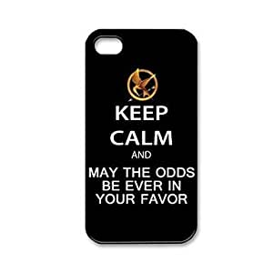 SHOUJIKE The Hunger Games Pattern Plastic Hard Case for iPhone 4/4S