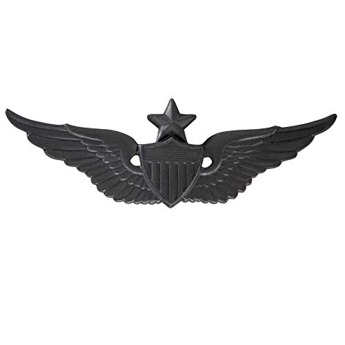 Medals of America US Army Senior Aviator Badge Black Full Size Full Size