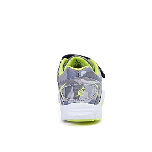 scarpa sportiva bambino australian nylon grigio mimetico