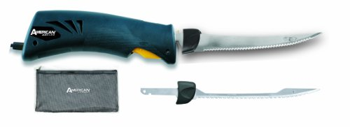 American Angler Classic Heavy Duty Electric Knife Precision Kit (Large Image)