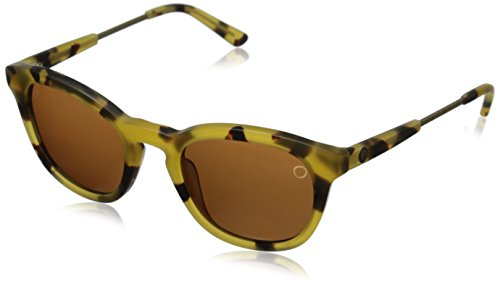 Electric Visual Txoko Matte Spotted Tortoise/OHM Bronze Sunglasses by Electric