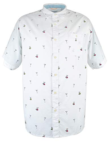 Tommy Bahama Big & Tall Men's Big & Tall Mix Master Shirt Continental ()