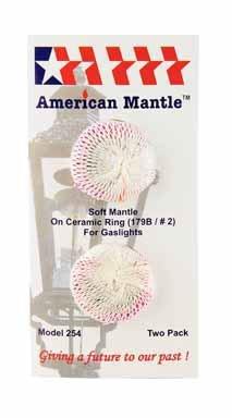 American Mantle 2007 254 Soft Inverted - Lamp Ceramic Ring