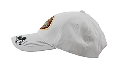 Disney Adult Mickey Mouse White Baseball Cap With Adjustable Strap by Disney