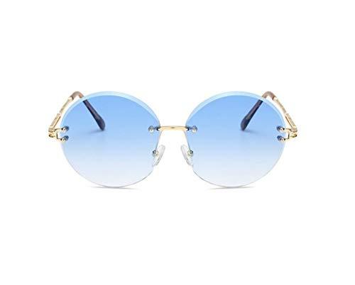 protection de des de Golden FlowerKui rondes lunettes conduisant de de lunettes Lunettes lentille UV400 soleil de soleil unisexes gww8PHqZ