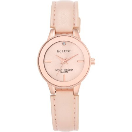 water-resistant-eclipse-womens-round-casual-watch-with-blush-leather-band-rose-gold