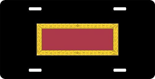 US Army Meritorious Unit Commendation Ribbon License Plate (Commendation Unit Ribbon Meritorious)